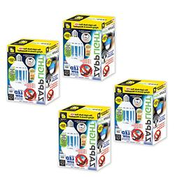 Zapplight Set of 4 LED 60W Bug Zapper Insect and Mosquito Za