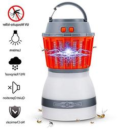 Bug Zapper Lamp-Mosquito Zapper Lamp-2-In-1 Zapper Lantern C