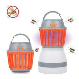 Bug Zapper Lantern 2 in 1 Mosquito Zapper& Outdoor Camping L