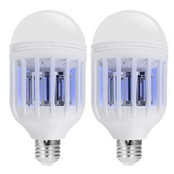 Bug Zapper Light Bulb with LED light bulb, Fly Killer, Mosqu