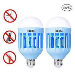 BLQH  Bug Zapper Light Bulb,Insect Killer,Mosquito Zapper,Fl