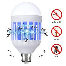 Danlit Bug Zapper Light Bulb, Electronic Insect Killer, Mosq