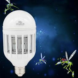 Bug Zapper Light Bulb Mosquito Lamp Fly Trap Killer Indoor O