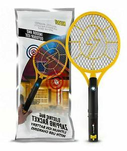 Beastron BBZ-01 Bug Zapper Racket, Electric Fly Killer with
