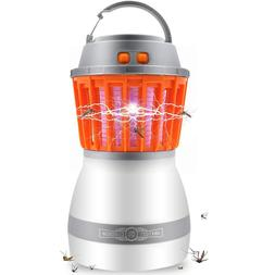 Bug Zappers Zapper Mosquito Killer Camping Lamp - 2 1 LED Li