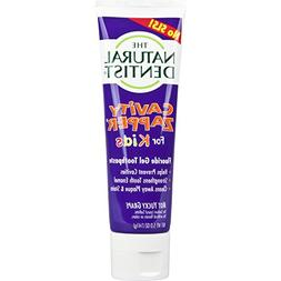 The Natural Dentist Cavity Zapper Fluoride Gel Toothpaste Fo