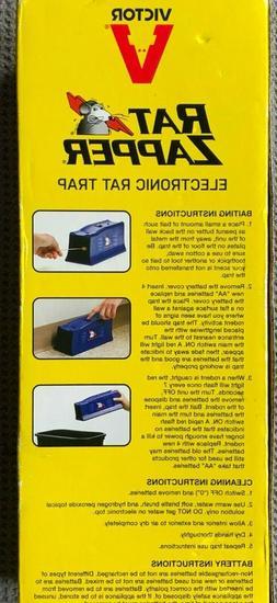 Rat Zapper Classic RZC001-4 Indoor Electronic Rat Trap - 1 T