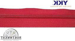 YKK Coil Zipper Chain #10 X-Heavy Duty Sold by the yard Made
