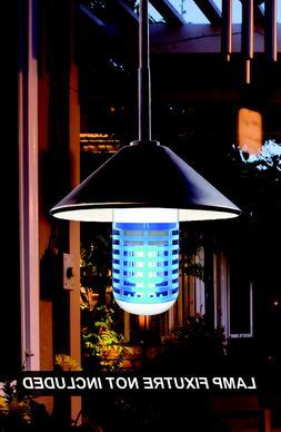 Cordless Insect,Mosquito's & Moths Zapper,5 Watts UVA KORAMZ
