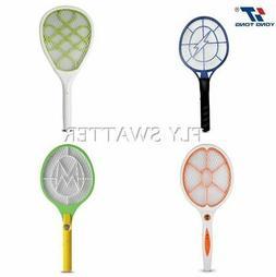 DC Power Electronic Handheld Mosquito Swatter Killer Racket