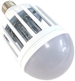 Bug Terminator Dual LED Mosquito and Bug Zapper Light Bulb,