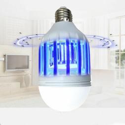 E27 15W 220V/110V LED Zapper Bulb Mosquito Insects Killer La