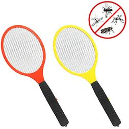 HOT Electric LED Anti Mosquito Fly Swatter Zapper Killers To