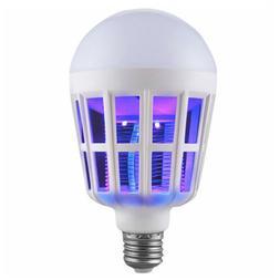 Electric Bug Mosquito Killer Zapper Solar LED Lantern Rechar