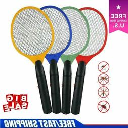 Electric Bug Pest Insect Fly Wasp Handheld Racket Zapper Kil