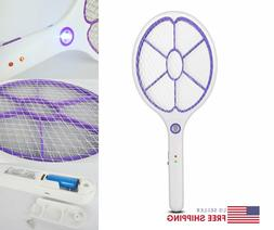 Mosquito Swatter USB Rechargeable Insect Hitting Racket Zapp