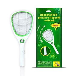 Tlanpu Electric Bug Zapper-Rechargeable Mosquito Swatter,Fly