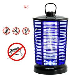 Electric Bug Zapper With Light  Hook Portable Standing Or Ha