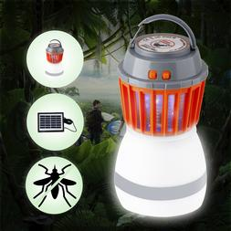 Electric Fly Bug Zapper Mosquito Insect Pest Killer Solar LE