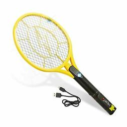 Tregini Electric Fly Swatter – Rechargeable Bug Zapper Ten