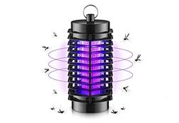 Electric Indoor Bug Zapper - Built in Insect Trap Light Bulb