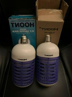 Hoont Powerful Electric Indoor Bug Zapper Bulb Trap Catcher