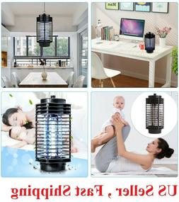 Electric Mosquito Fly Bug Insect Zapper Killer LED Trap Lamp