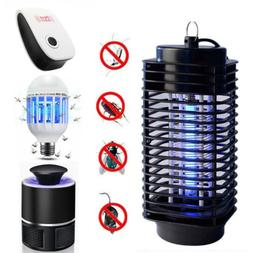 Electric Mosquito Fly Bug Insect Zapper Killer Trap Lamp Pes