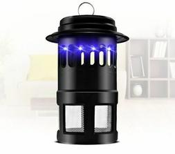 Electric Mosquito Fly Pest Bug Insect Zapper Killer With Tra