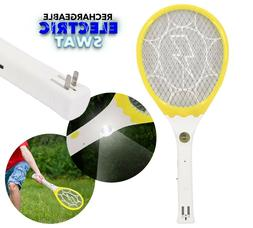 Electric Mosquito Fly Wasp Insect Bug Zapper Racket Swatter