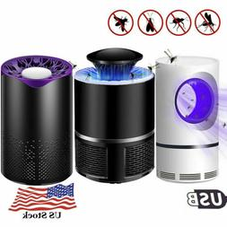 electric mosquito killer zapper usb led light