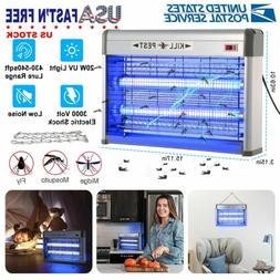 Electric UV Fly Bug Insect Zapper Light 110V 20W Indoor Mosq