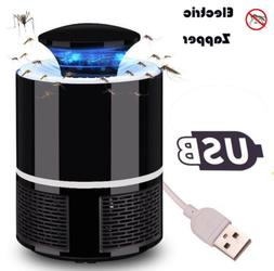 Electric Zapper Mosquito Killer Lamp 5V USB Fly Bug Pest Tra