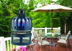 Electronic Flying Insect Mosquitos Trap Zapper Flies Fly Bug