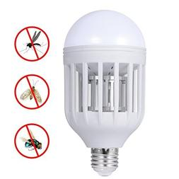iHomy Electronic Insect Killer, Bug Zapper Light Bulb, Fly K