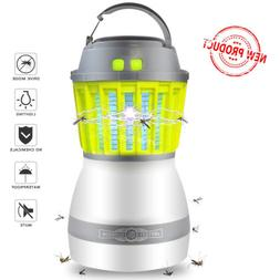 Electronic Insect Killer Light Outdoor Waterproof Bug Zapper