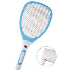 Electronic Mosquito Swatter,Gosear Mosquito Zapper 3 Layer G