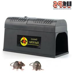 Electronic Mouse Mice Rat Zapper Rodent Trap Killer Pest Con
