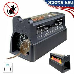 Electronic Mouse Rat Rodent Killer Mice Electric Trap Zapper