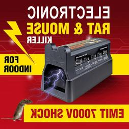 Electronic Mouse Trap Victor Control Rat Killer Pest Electri