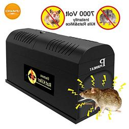 Verfanny Electronic Rat Traps,Effective and Powerful Killer