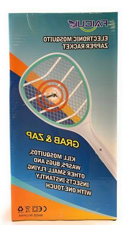 Faicuk Handheld Bug Zapper Racket Electronic Fly Swatter Mos