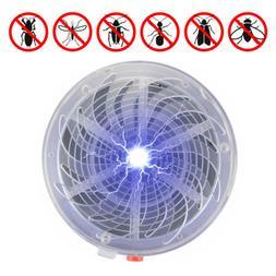Fly Insect Bug Mosquito Solar Buzz Zapper Killer UV Light Ho