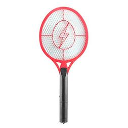 ALLOMN Fly Killer,Bug Zapper,Electric Fly Swatter,Metal Mesh
