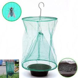 Fly Net Bag Trap Catcher Kills Flies Insects Bugs Pest Contr