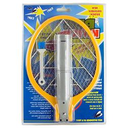 BugKwikZap Foldable Bug Zapper Electric Fly Swatter , 1-Pack