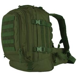 Fox Outdoor TACTICAL DUTY PACK BACKPACK Heavy Duty Zippers W