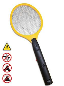 Hand Held Bug Killer Zapper yellow