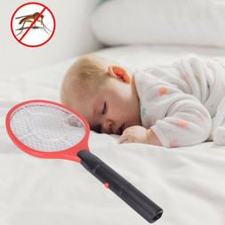 Hand Held Cordless Bug Zapper Insect Electric Fly Swatter Ra