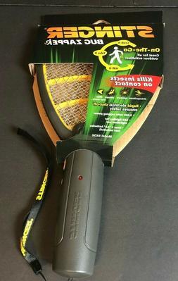 Hand Held Stinger - On-the-Go Bug Zapper Racket -